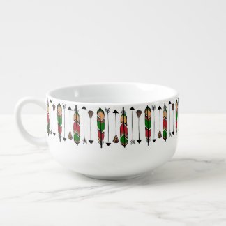 Feathers and Arrows Soup Mug