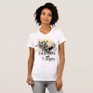 Feathers and Fringes Kachina Dancer Shirt