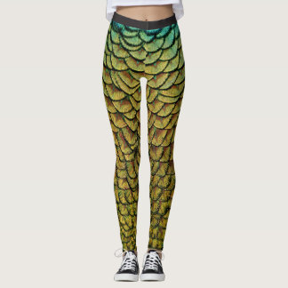 Feathers and Scales | Leggings