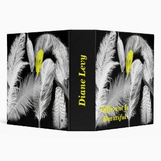 Feathers Custom School Binder