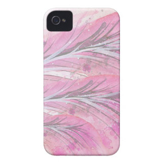 feathers, light rose, elegant, sophisticated iPhone 4 cover