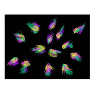 Feathers Worship Art 5th Jan 2018 ESSL Postcard