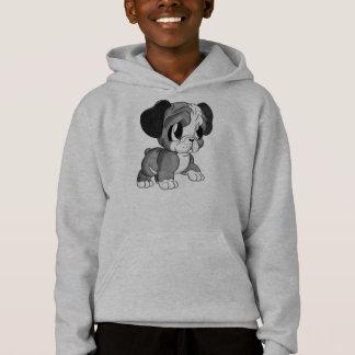 Featured Designer: Bulldog Art Boy's Grey Hoodie