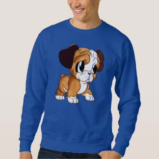 Featured Designer: Bulldog Art Men's Blue Sweater