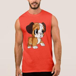 Featured Designer: Bulldog Art Men's Red Tank Top