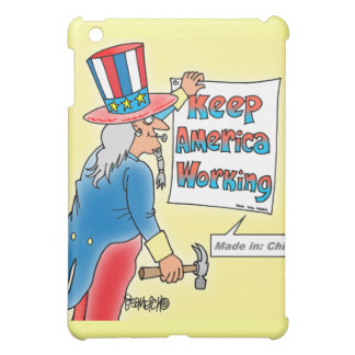 Features Uncle Sam - Made In China Cover For The iPad Mini