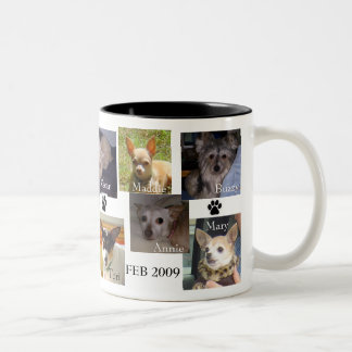 FEB 2009 DOGS Two-Tone COFFEE MUG