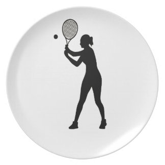 February 23rd - Play Tennis Day - Appreciation Day Dinner Plates