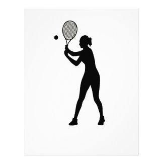 February 23rd - Play Tennis Day - Appreciation Day Letterhead