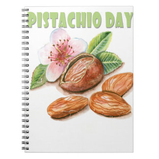 February 26th - Pistachio Day Notebooks