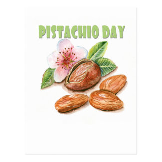 February 26th - Pistachio Day Postcard