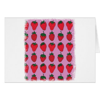 February 27th - Strawberry Day Card