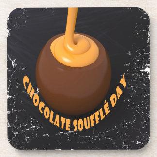 February 28th - Chocolate Soufflé Day Coaster