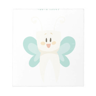 February 28th - Tooth Fairy Day - Appreciation Day Notepad