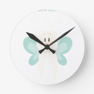 February 28th - Tooth Fairy Day - Appreciation Day Wall Clocks
