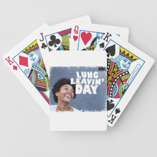 February 2nd - Lung Leavin' Day - Appreciation Day Bicycle Playing Cards