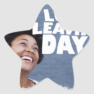 February 2nd - Lung Leavin' Day - Appreciation Day Star Sticker