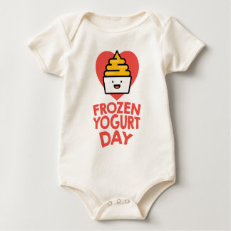 February 6th - Frozen Yogurt Day Baby Bodysuit