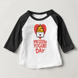 February 6th - Frozen Yogurt Day Baby T-Shirt