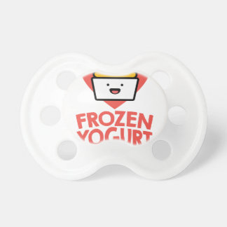 February 6th - Frozen Yogurt Day Pacifier