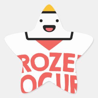 February 6th - Frozen Yogurt Day Star Sticker