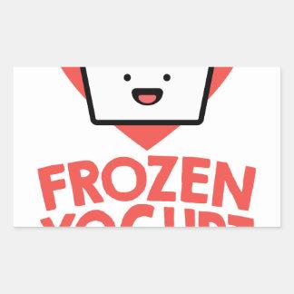 February 6th - Frozen Yogurt Day Sticker