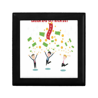 February 8th - Laugh And Get Rich Day Gift Box