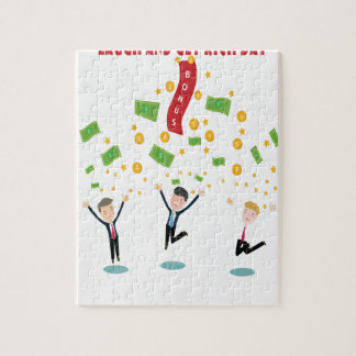 February 8th - Laugh And Get Rich Day Jigsaw Puzzle