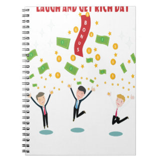 February 8th - Laugh And Get Rich Day Notebooks