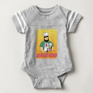 February - Bake For Family Fun Month Baby Bodysuit