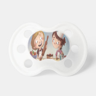 February - Bake For Family Fun Month Baby Pacifiers