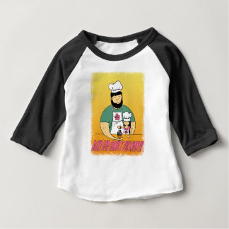 February - Bake For Family Fun Month Baby T-Shirt