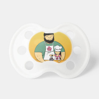 February - Bake For Family Fun Month Pacifier