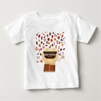 February Bird-Feeding Month - Appreciation Day Baby T-Shirt