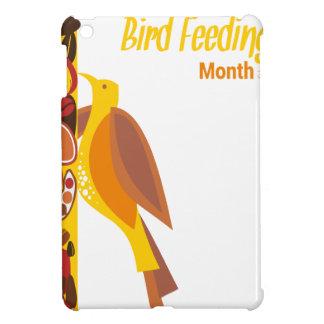 February - Bird-Feeding Month - Appreciation Day iPad Mini Cases