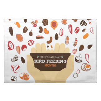 February Bird-Feeding Month - Appreciation Day Placemat