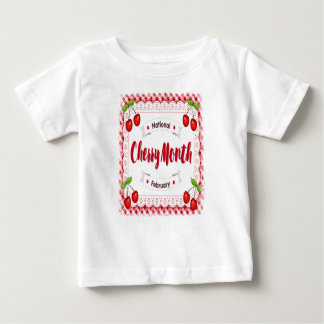 February - Cherry Month - Appreciation Day Baby T-Shirt
