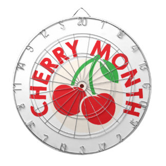 February - Cherry Month - Appreciation Day Dartboard