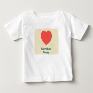 February - Heart Month - Appreciation Day Baby T-Shirt