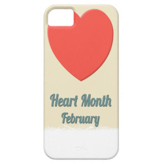 February - Heart Month - Appreciation Day iPhone 5 Case