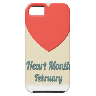 February - Heart Month - Appreciation Day iPhone 5 Cases