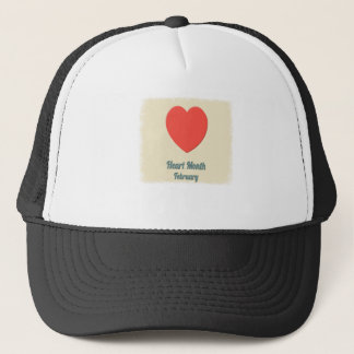 February - Heart Month - Appreciation Day Trucker Hat