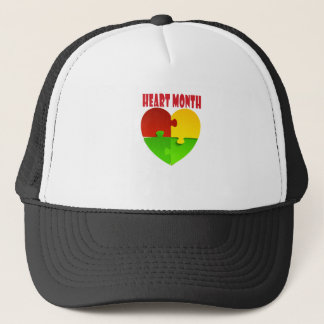 February - Heart Month Trucker Hat