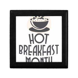 February - Hot Breakfast Month - Appreciation Day Gift Box