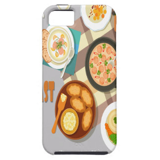 February - Hot Breakfast Month - Appreciation Day iPhone 5 Cases