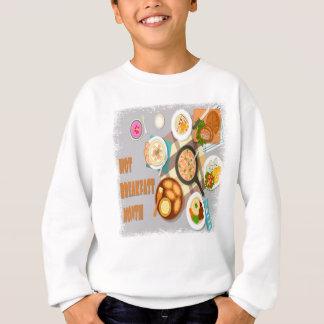 February - Hot Breakfast Month - Appreciation Day Sweatshirt