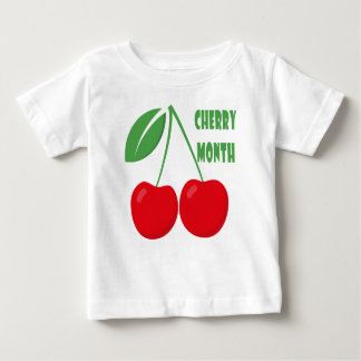 February is Cherry Month - Appreciation Day Baby T-Shirt