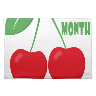 February is Cherry Month - Appreciation Day Placemat