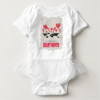February is Heart Month - Appreciation Day Baby Bodysuit