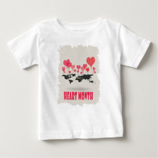 February is Heart Month - Appreciation Day Baby T-Shirt